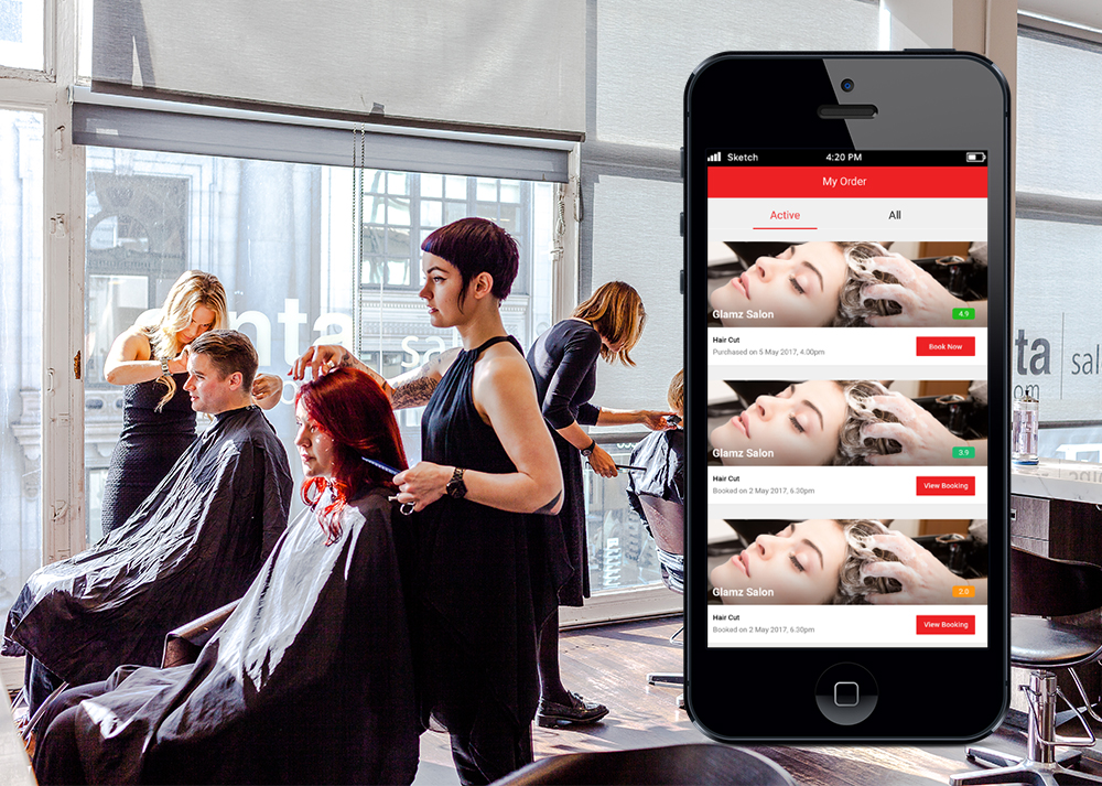Best Salon and Spa Appointment Booking App for Android